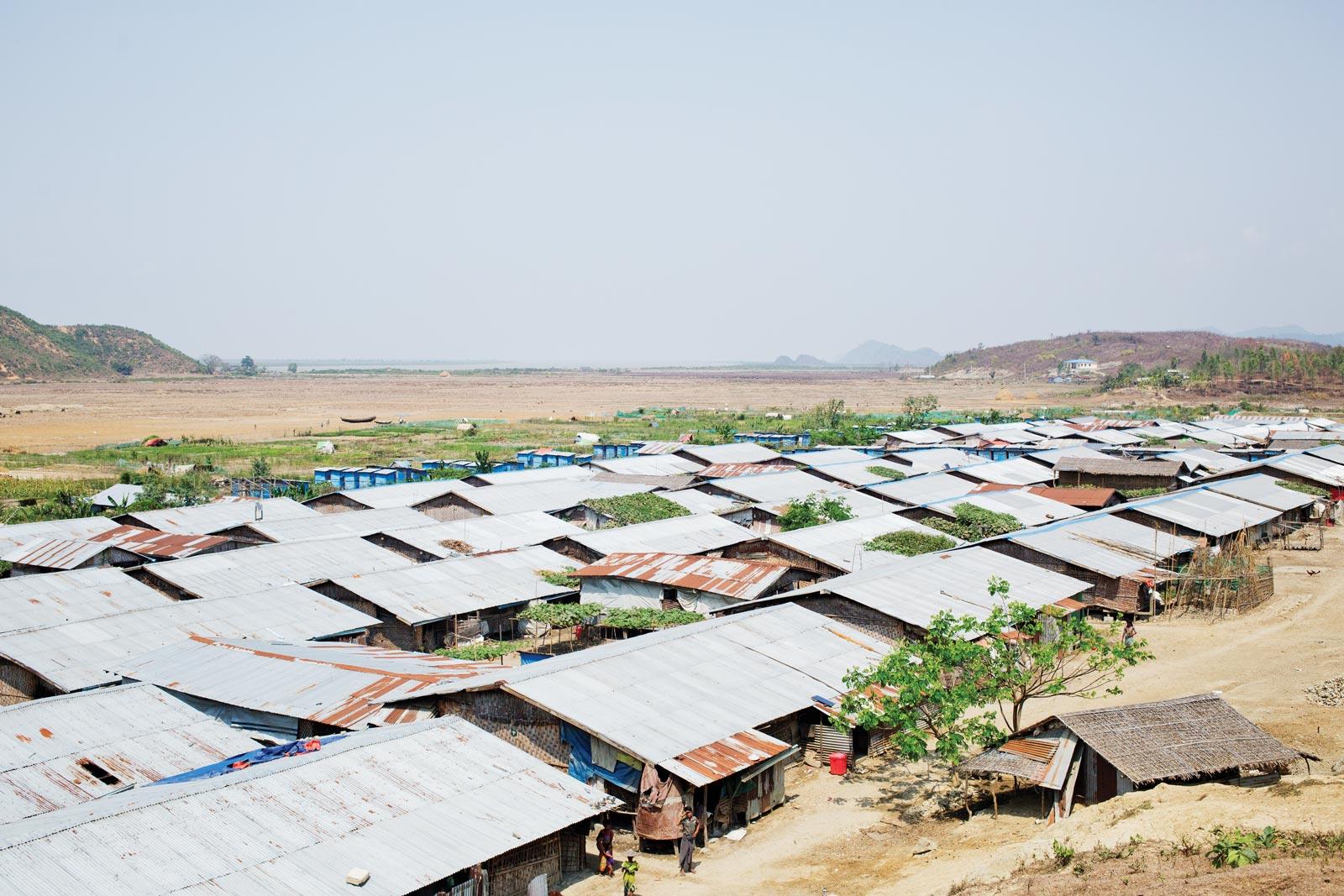 A view of Taung Paw IDP Camp. Photo: Antolín Avezuela Aristu