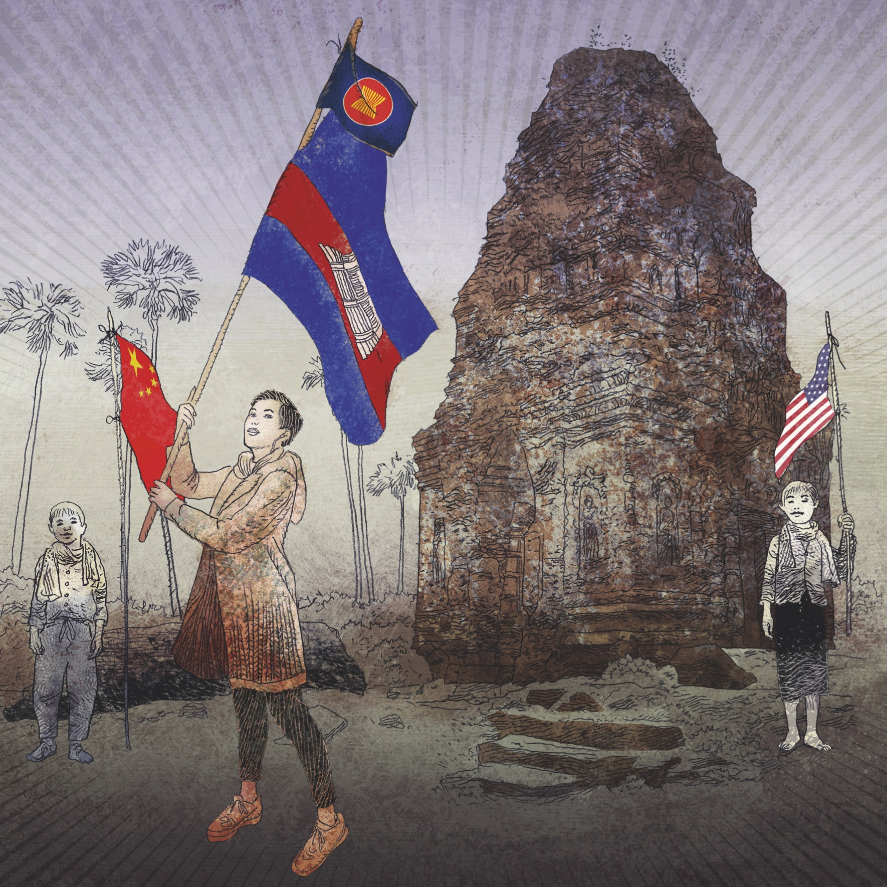 Cambodia and the great powers