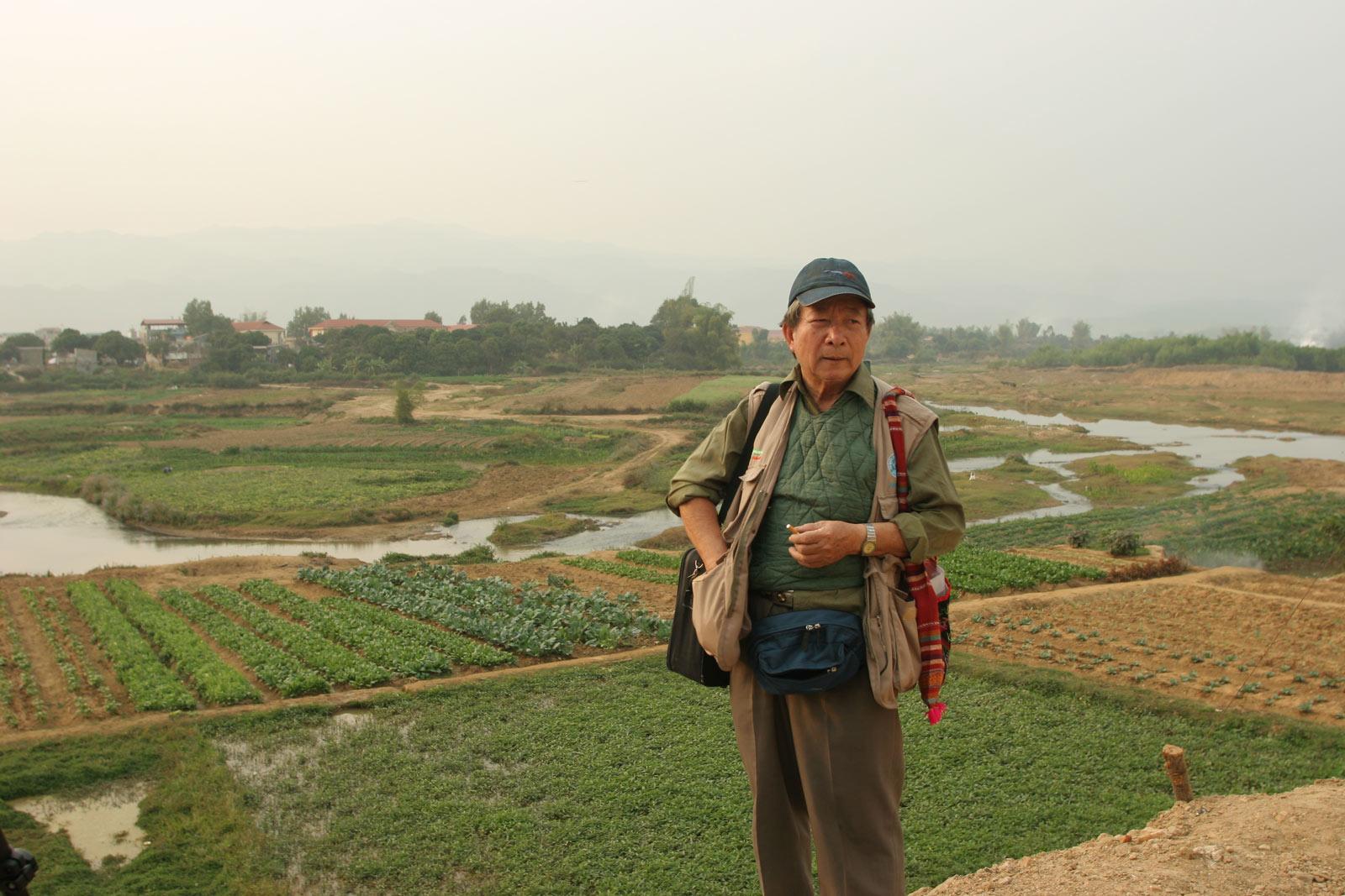 Tam in 2012, on a return trip to Dien Bien Phu