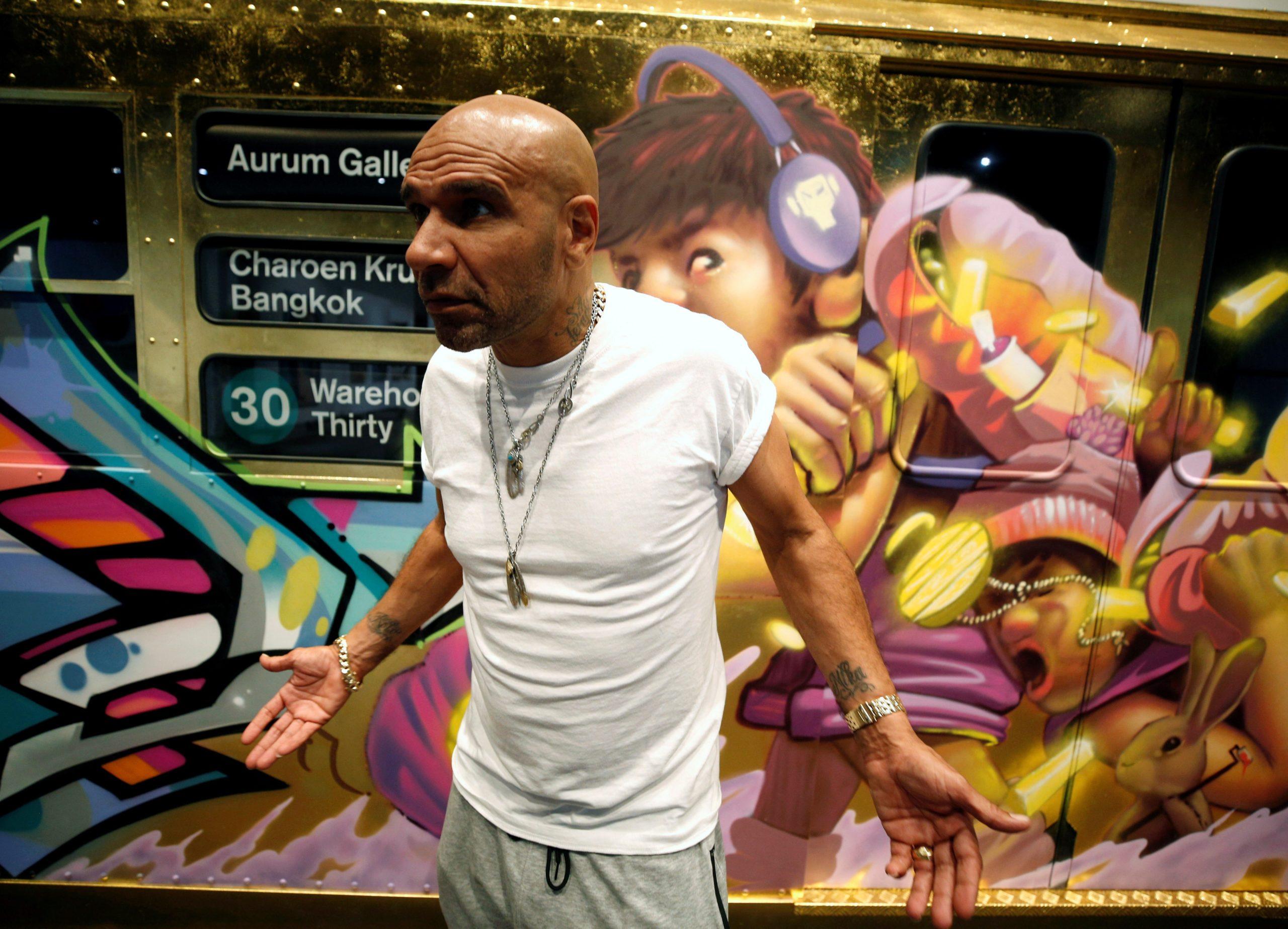 Goldie opens Bangkok gallery to showcase street art from around world