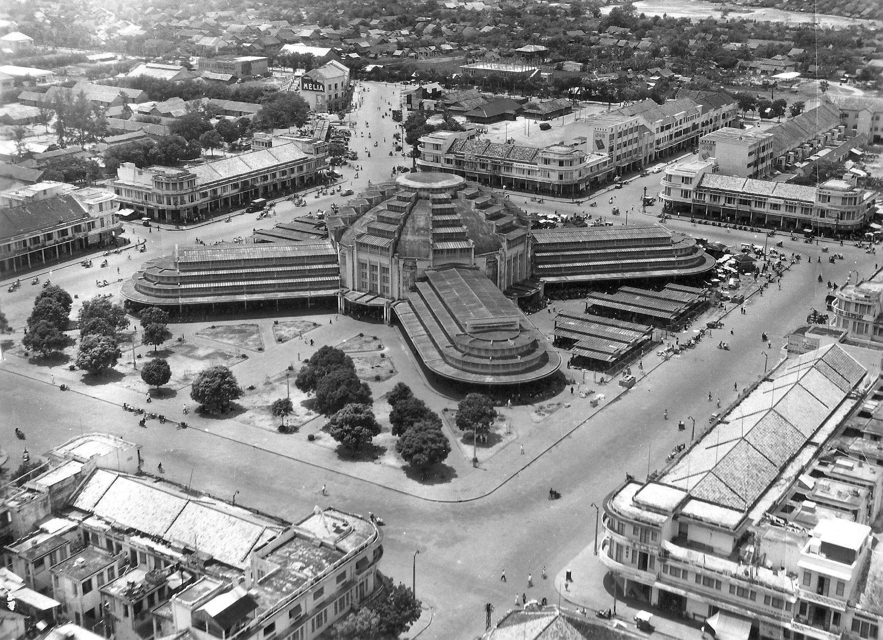 [Photos] Bird's-eye view: Aerial photos of 1953 Indochina