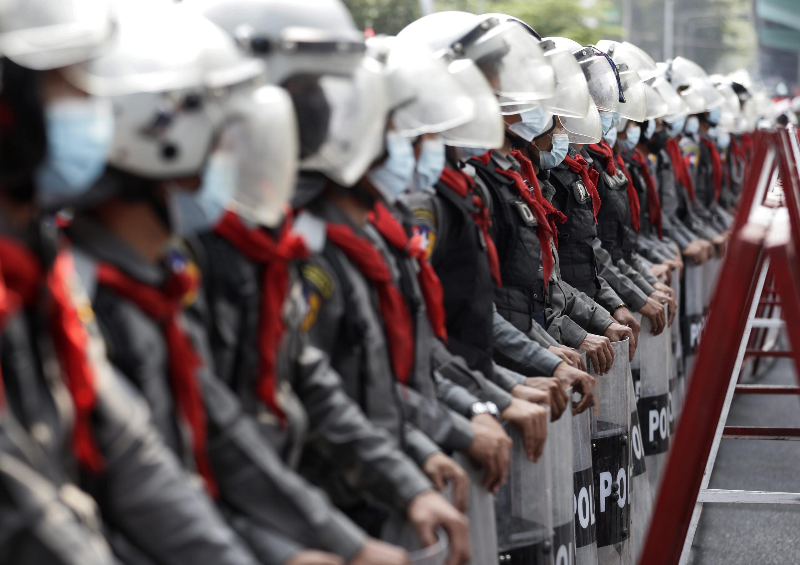Anti-coup hackers target Myanmar govt sites as protesters jam Yangon roads