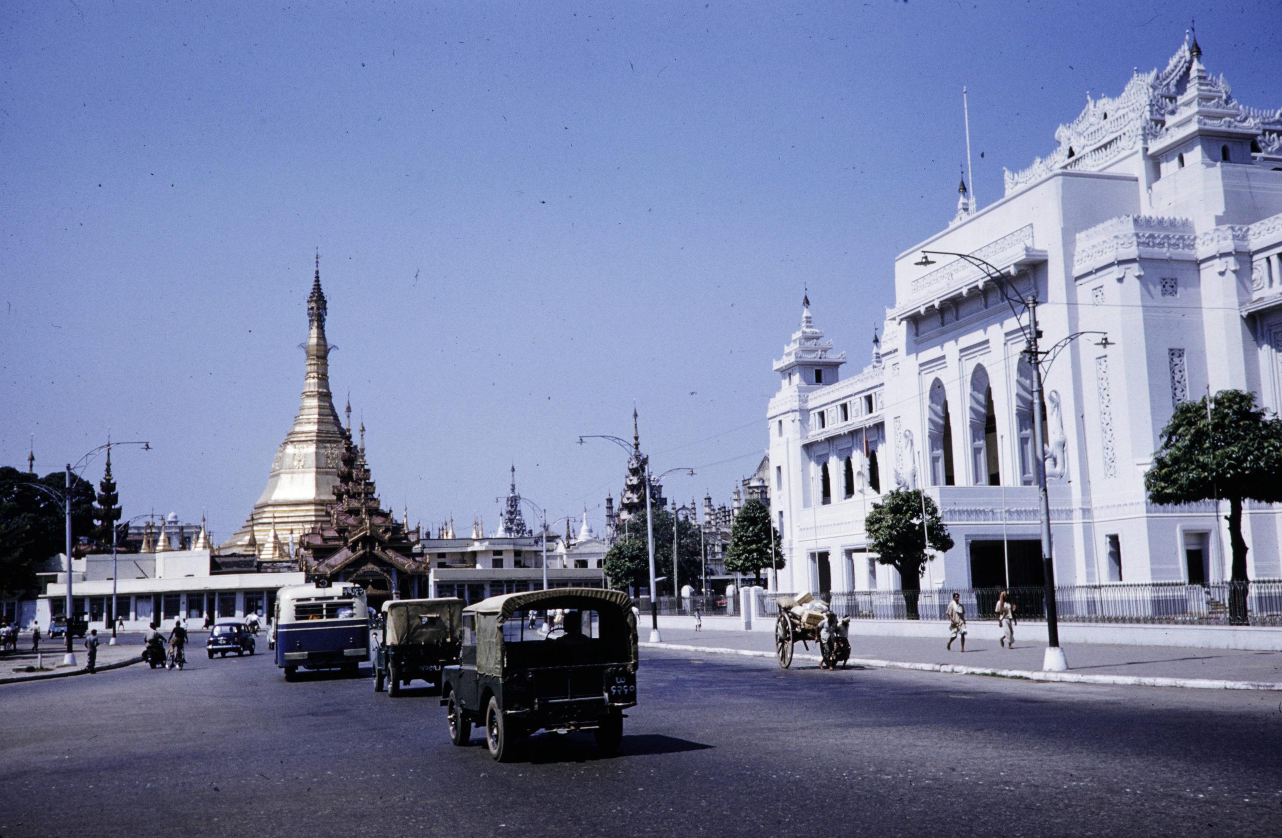 [Photos] Archive shots of pre-coup 1960s Rangoon and Mandalay