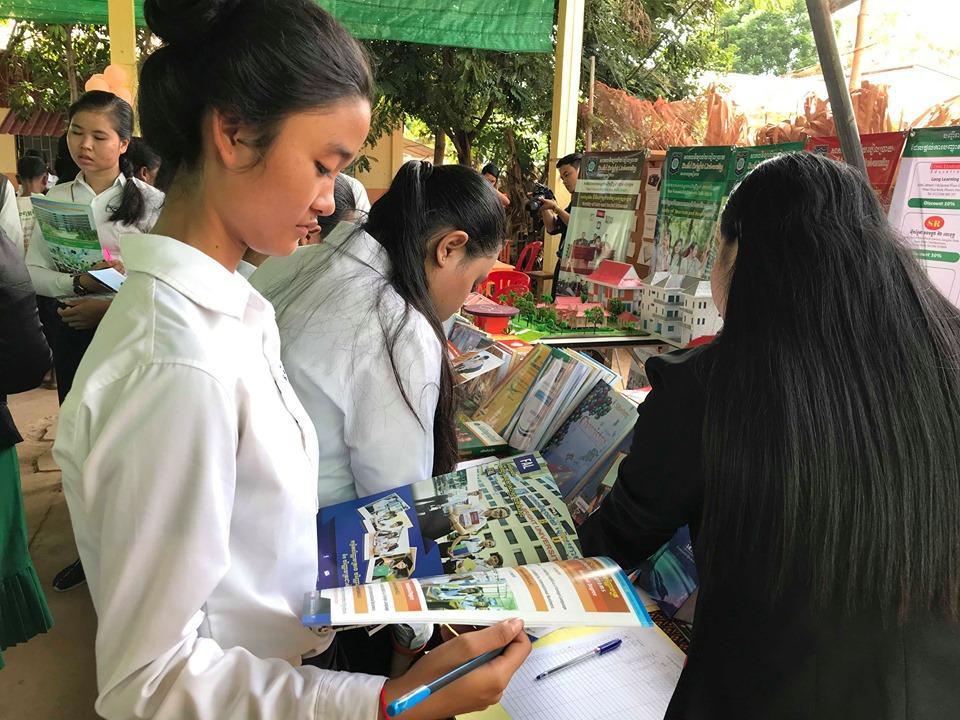 Career programmes help make Cambodian students workforce ready